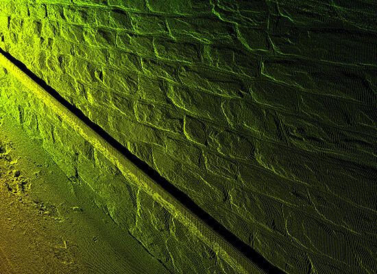 Laserscanner Messung Tunnel OPTIMESS CP